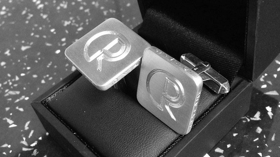 Jewellery Engraving - Engraving Cufflinks