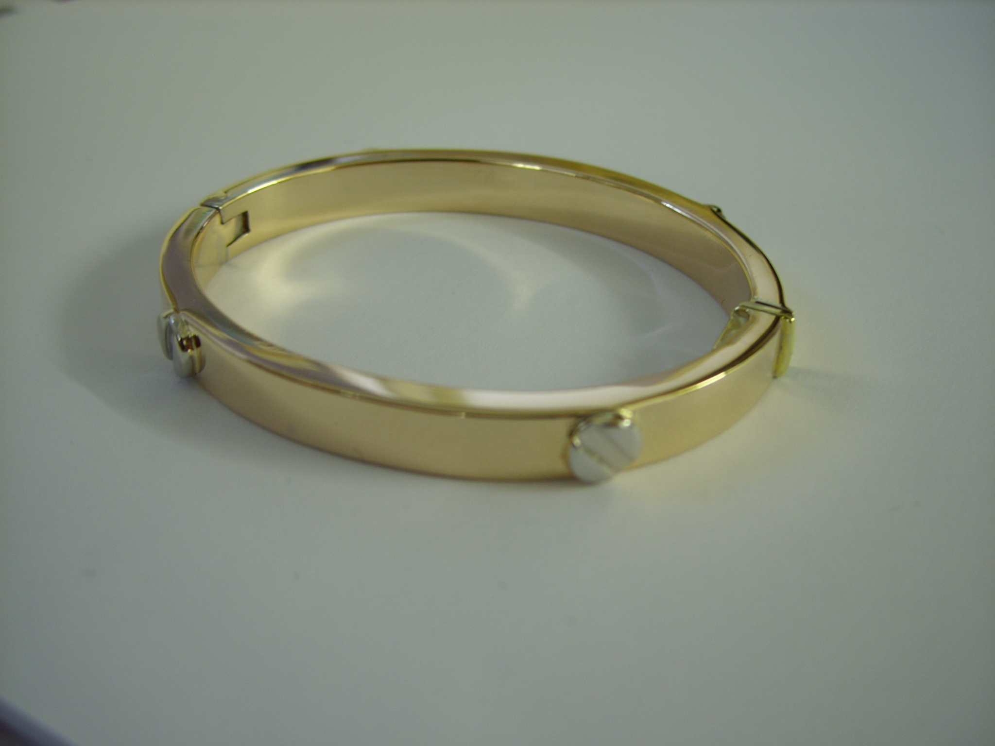 pin set bracelets bangle in gold solid bangles diamond